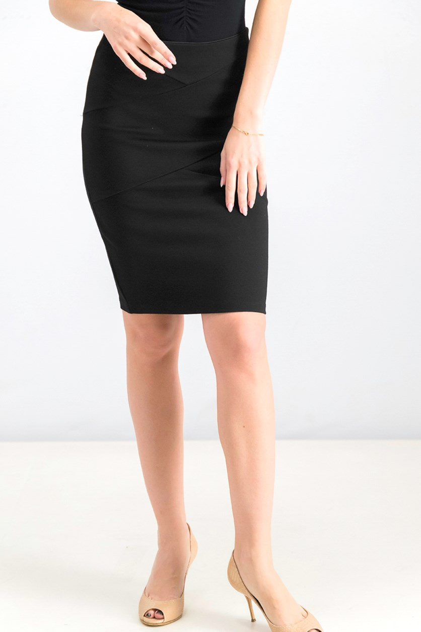 Women's Pencil Skirt, Black