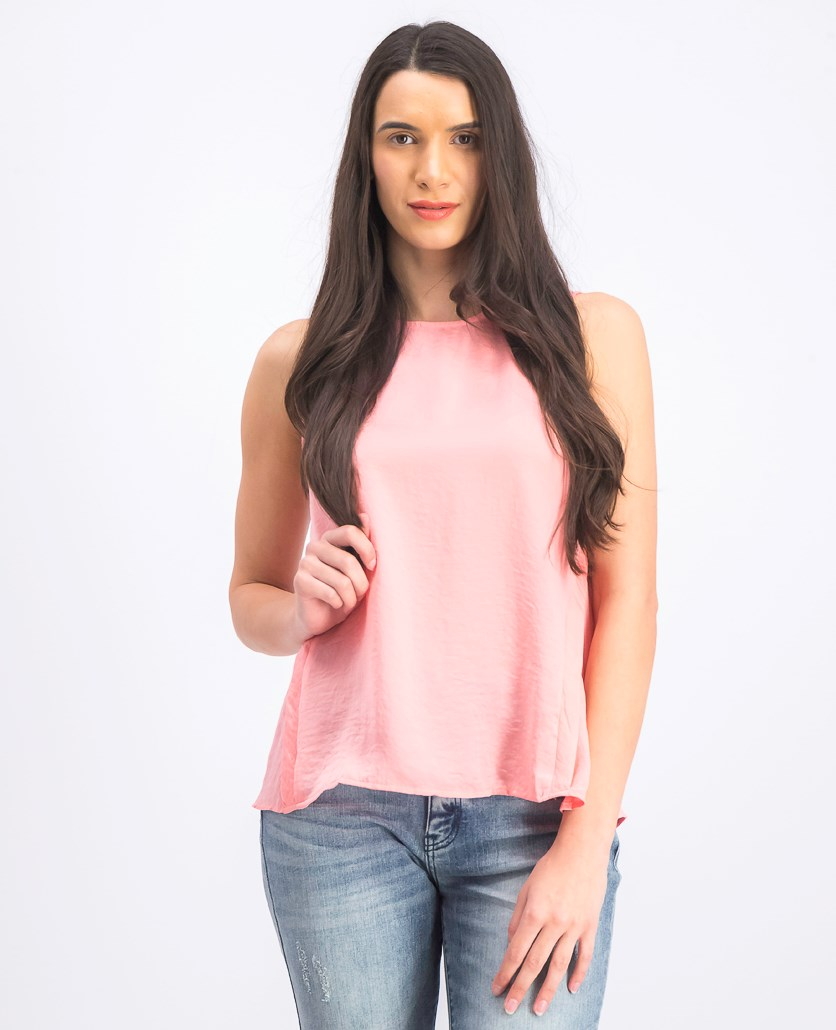 Women's Sleeveless Tops, Pink