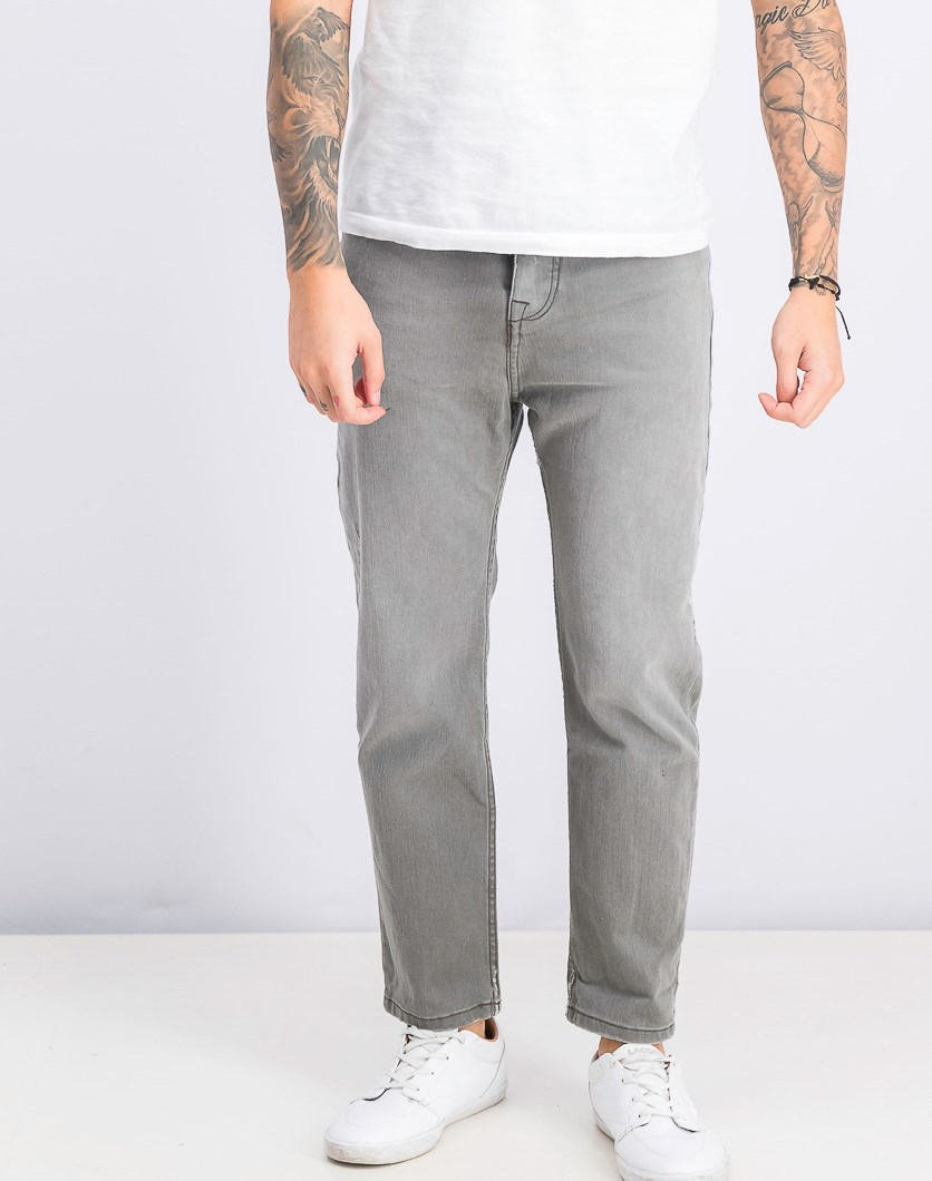 Men's Baggy Jeans, Gray
