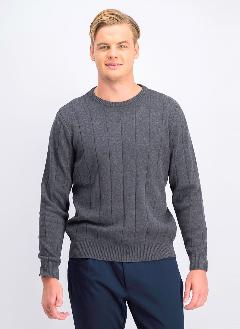 Men's Sweater, Charcoal Heather