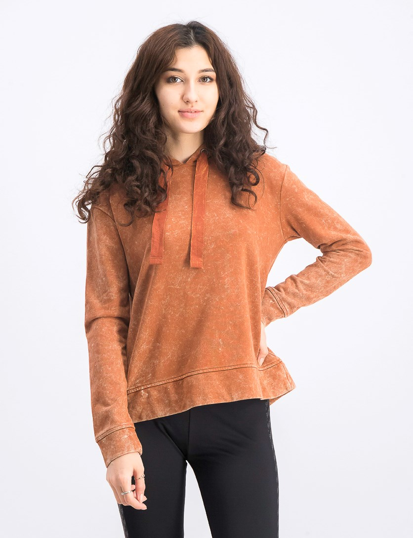 Women's French Terry Tie-Dye Hoodie, Washed Sequoia