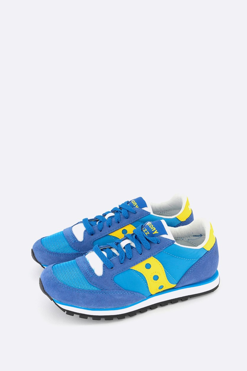 Men's Jazz Low Pro Sneakers Shoes, Blue
