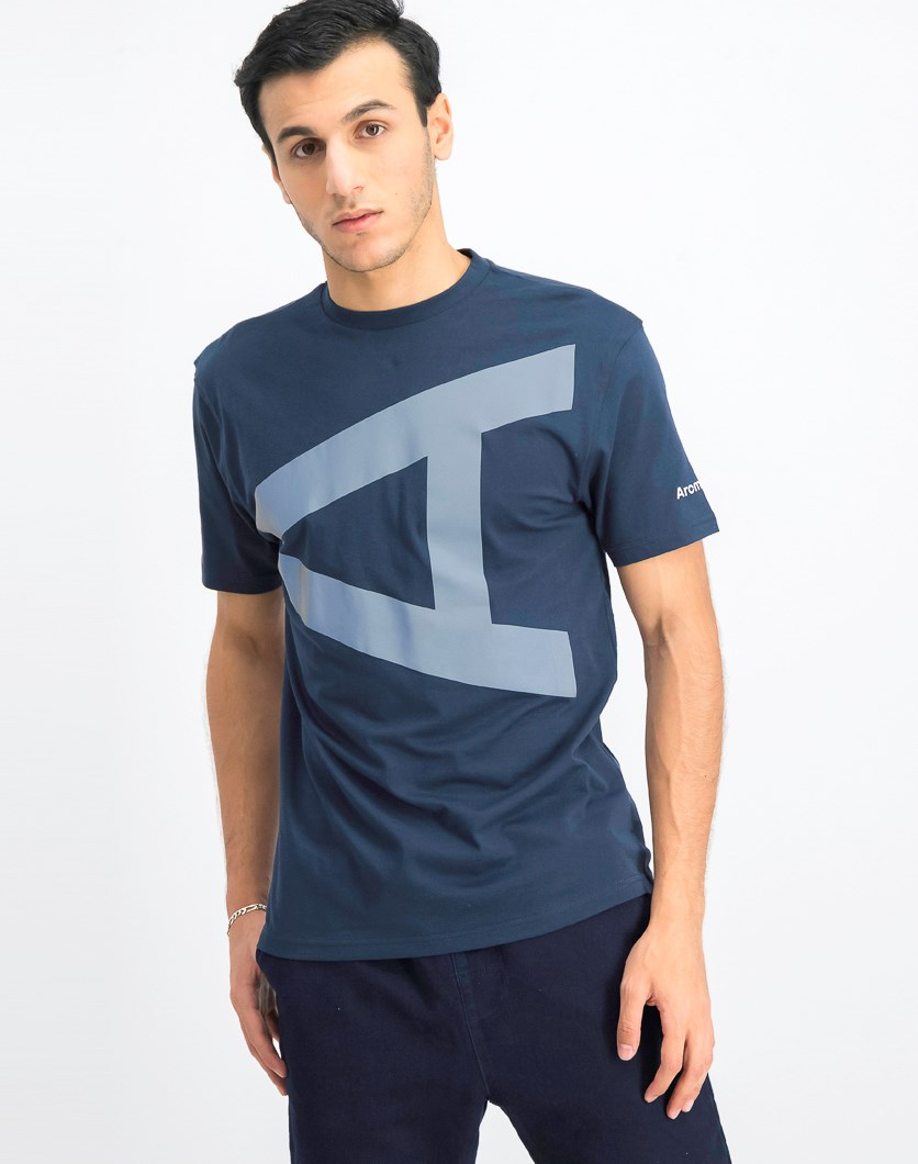 Men's Graphic T-Shirt, Navy