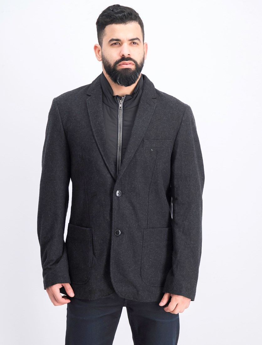 Men's Transit Casual Blazer, Black