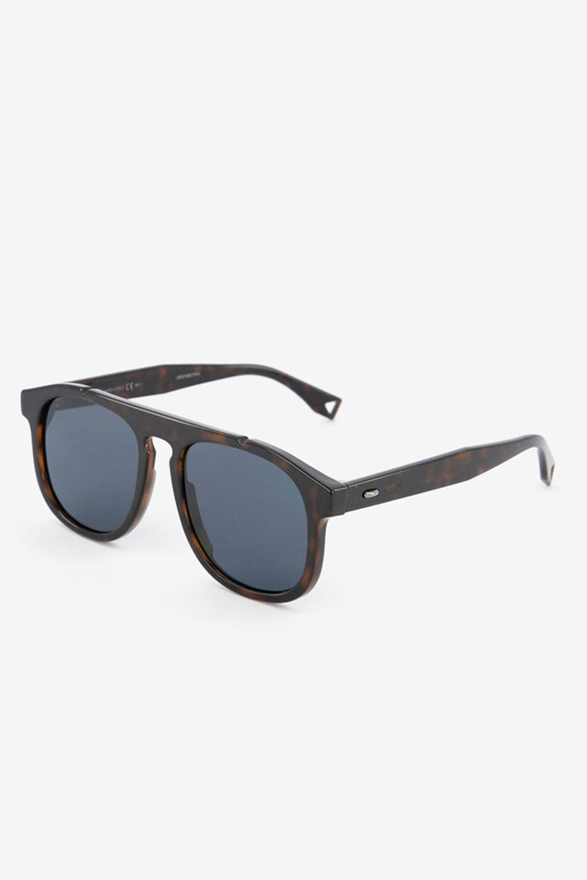 Men's FFM0014 Sunglasses, Dark Havana