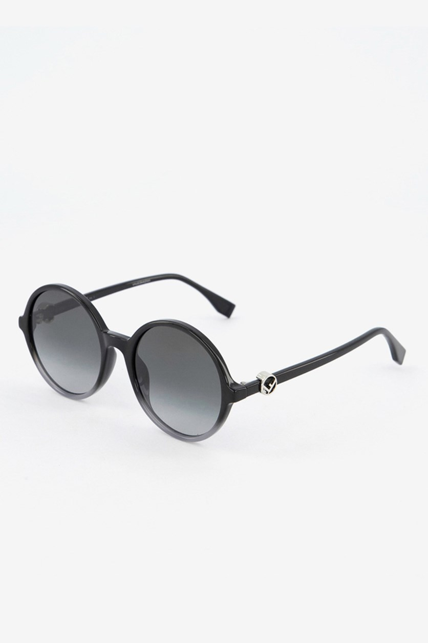 Women's FF0319 Sunglasses, Black