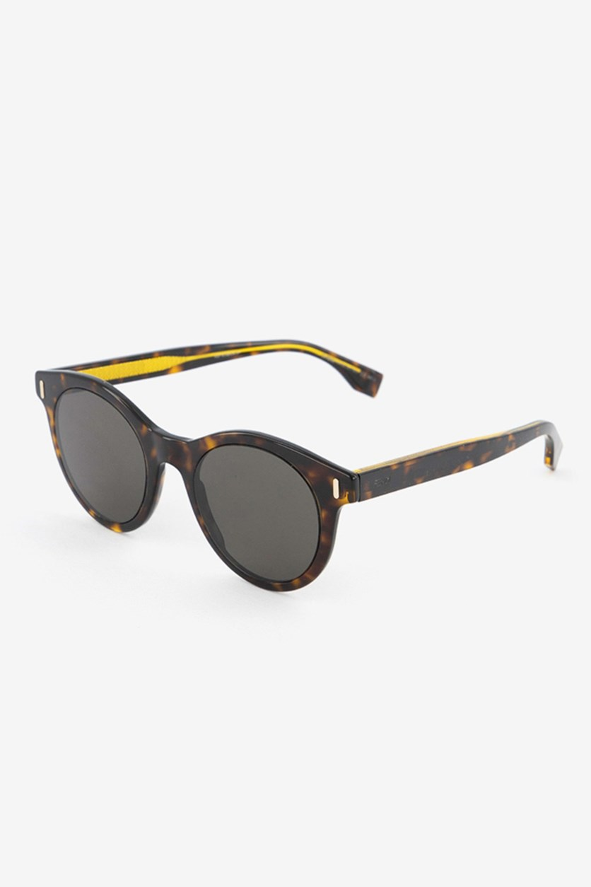 Men's FFM0041 Sunglasses, Dark Havana
