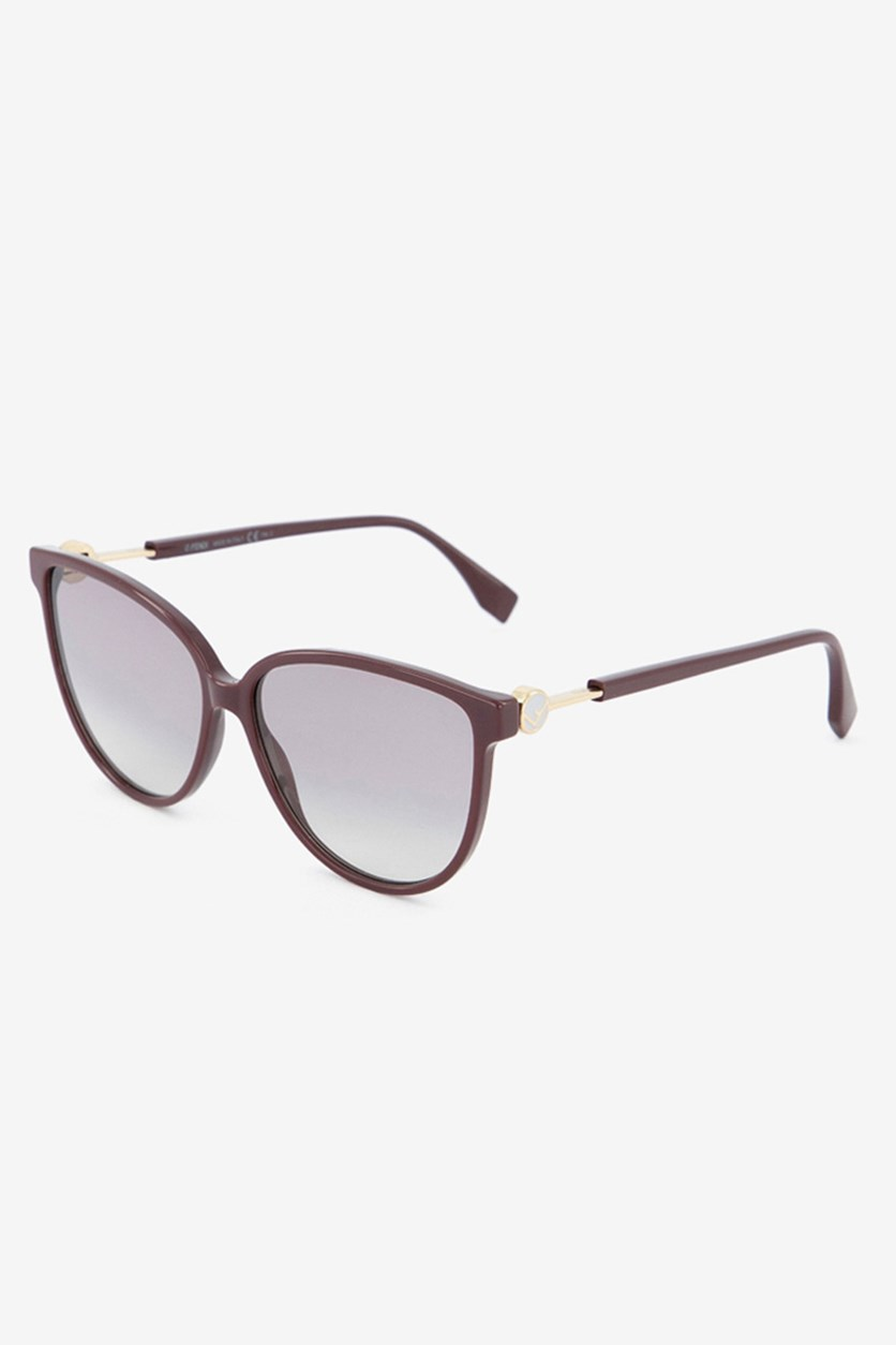 Women's FF0345 Sunglasses, Plum