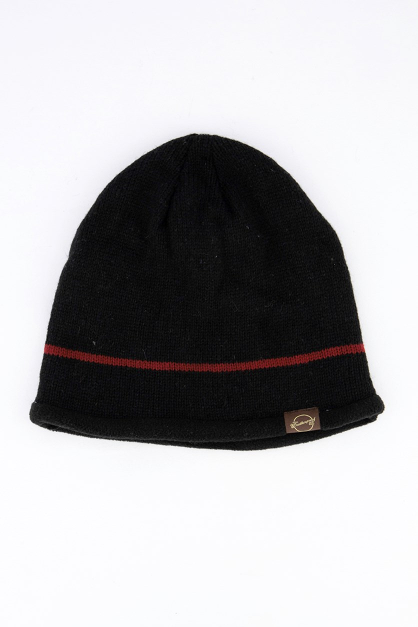 Men's Wool Cap, Black