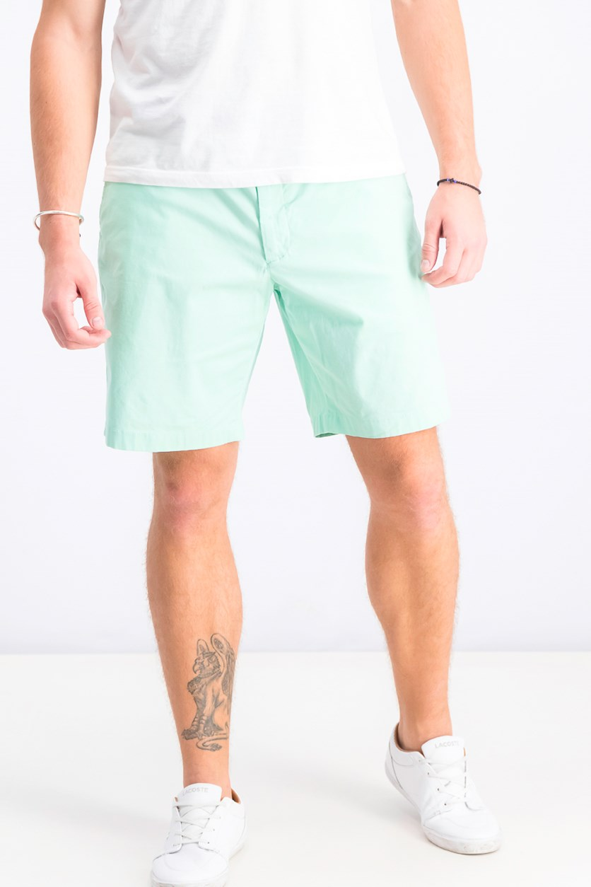 Men's Classic-Fit Stretch Shorts, Garden Mint