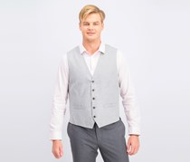 Men's Duomo Vest,  Grey Heather