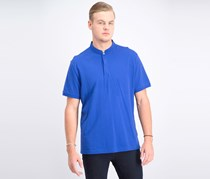 Men's Supima Cotton Banded Polo, New Cerulean