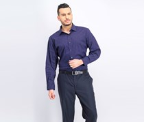 Men's Athletic Fit Dress Shirt, Purple