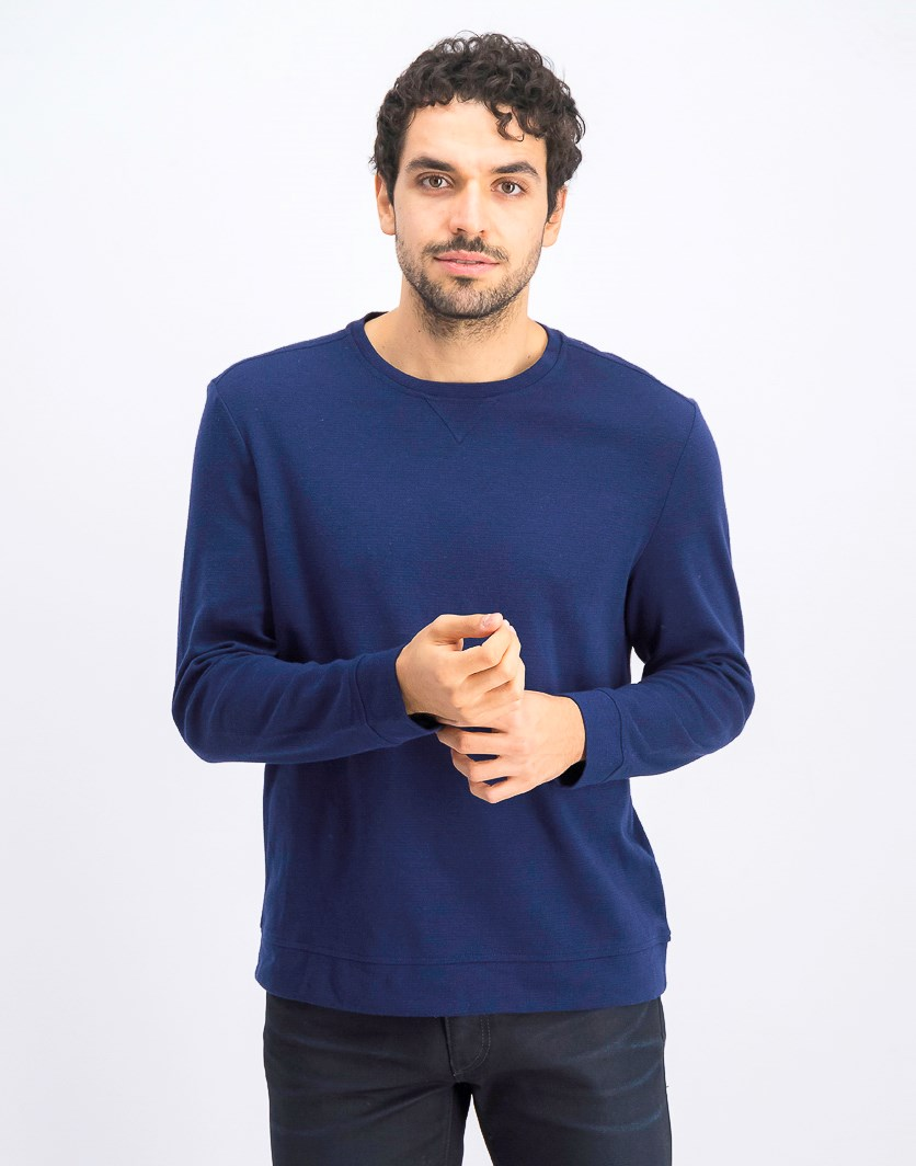 Men's Crewneck Sweatshirt, Navy