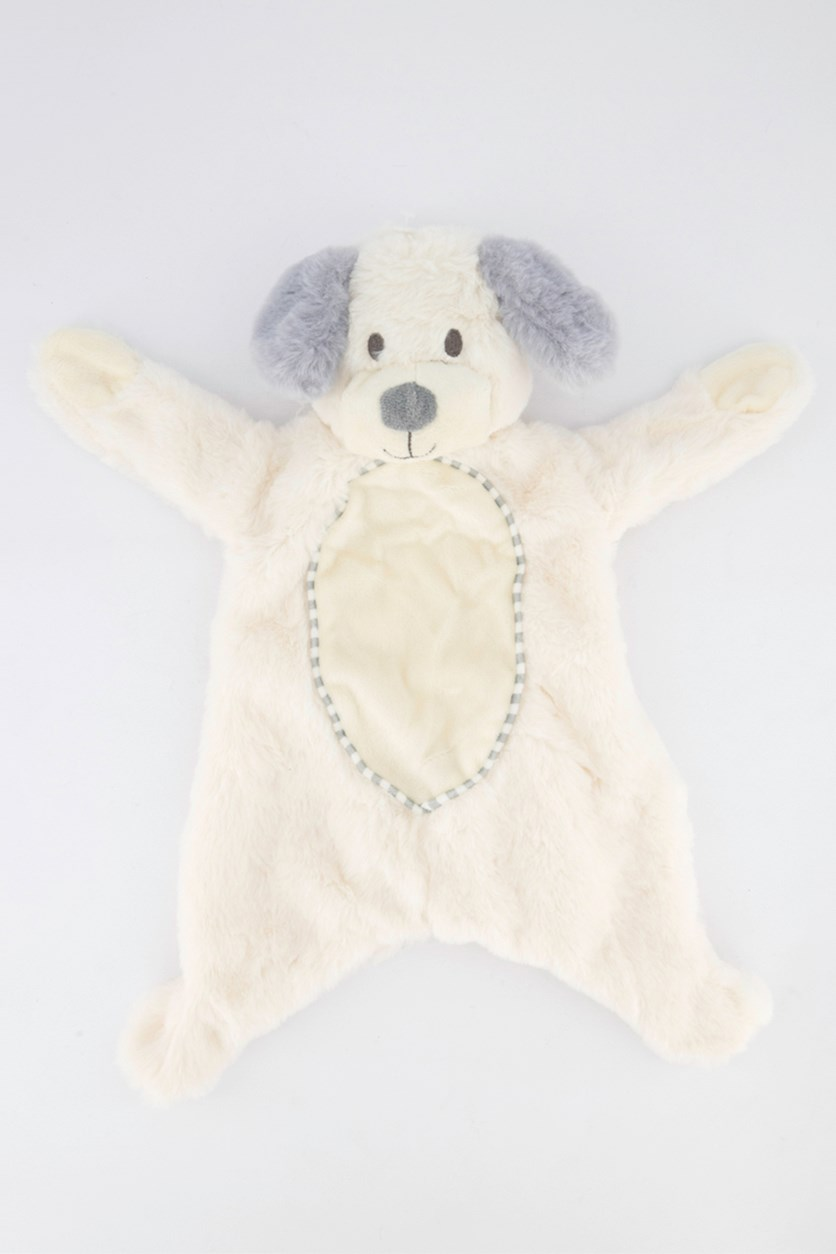 Baby Flatties with Crinkle Sound Plush Toy, Dog