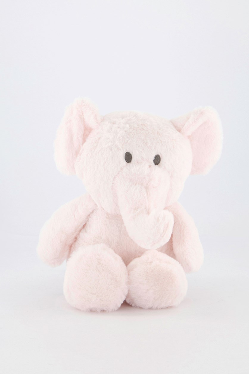 Baby Cuddle Plush With Crinkle And Rattle, Pink