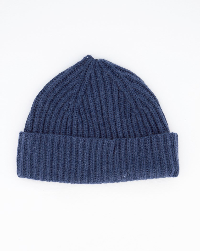 Men's Textured Hat, Dusk Navy
