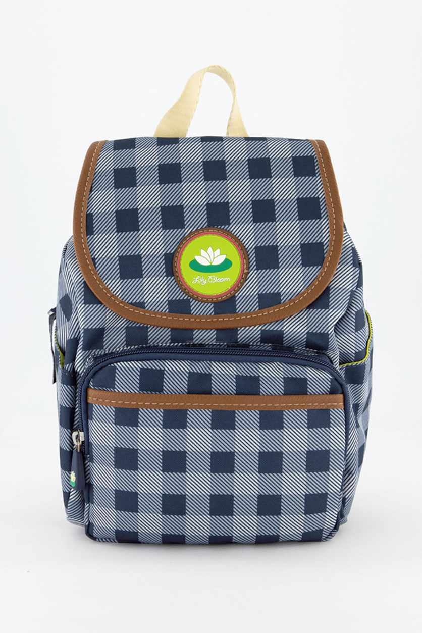 Picnic Plaid Marley Backpack, Navy
