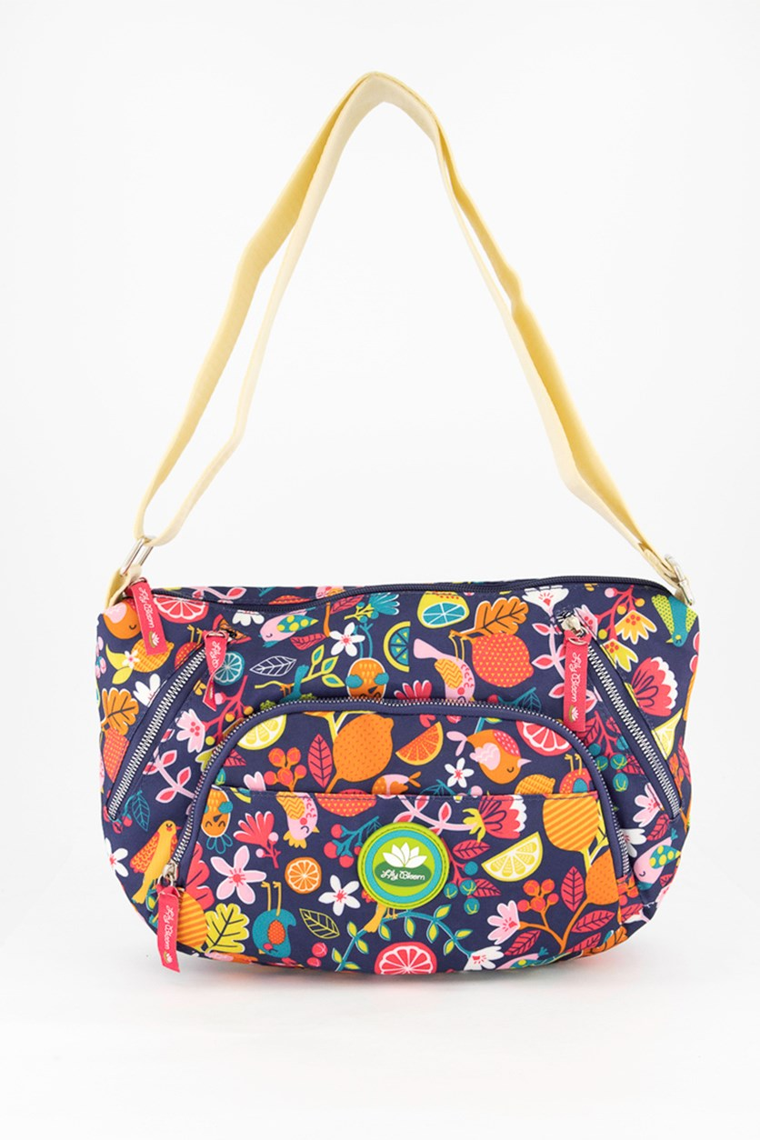 Fruit Loops Shoulder Bag, Purple Combo