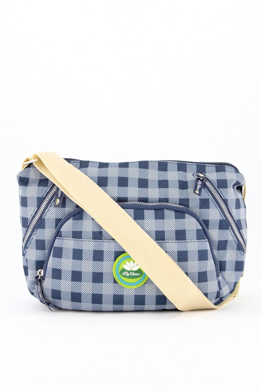 Picnic Plaid Colette Convertible, Navy