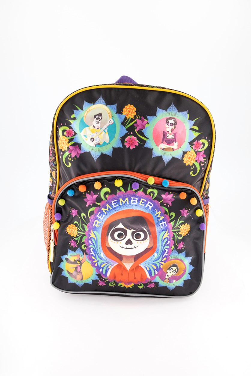 Remember Me Coco Backpack, Black/Purple