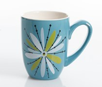 Studio California Nordic Cool Anza 1 Piece Mug, Blue