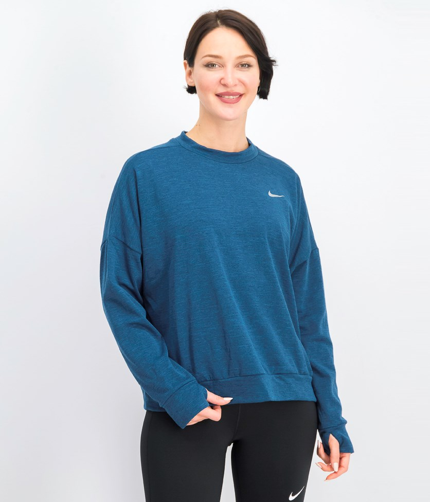 Therma Sphere Element Running Top, Heather Blue