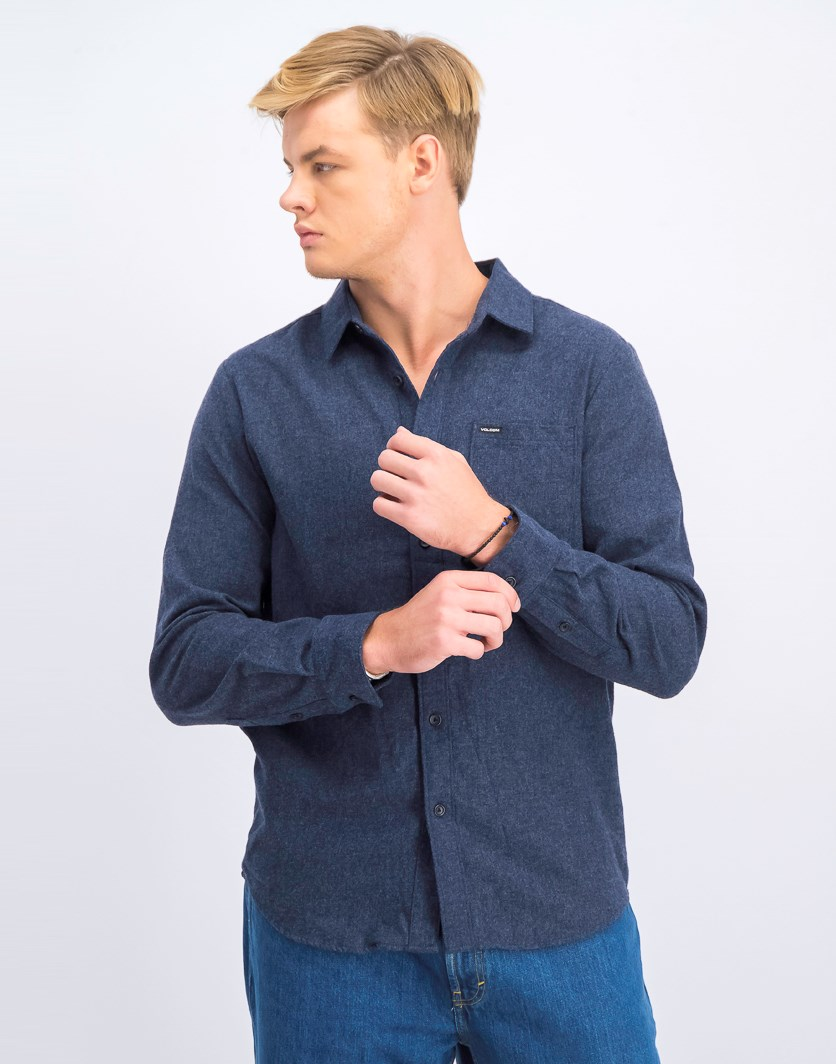 Men's  Caden Woven Shirt, Dark Blue