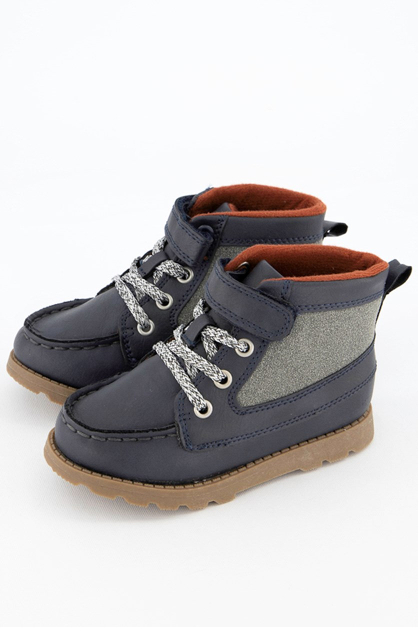Toddler Boy Bradford Velcro Shoes, Navy