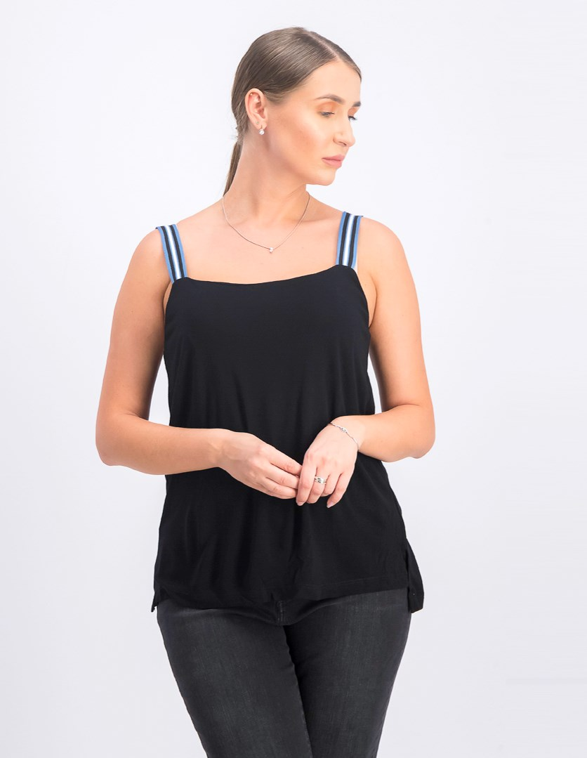 Women's Sleeveless Top, Black