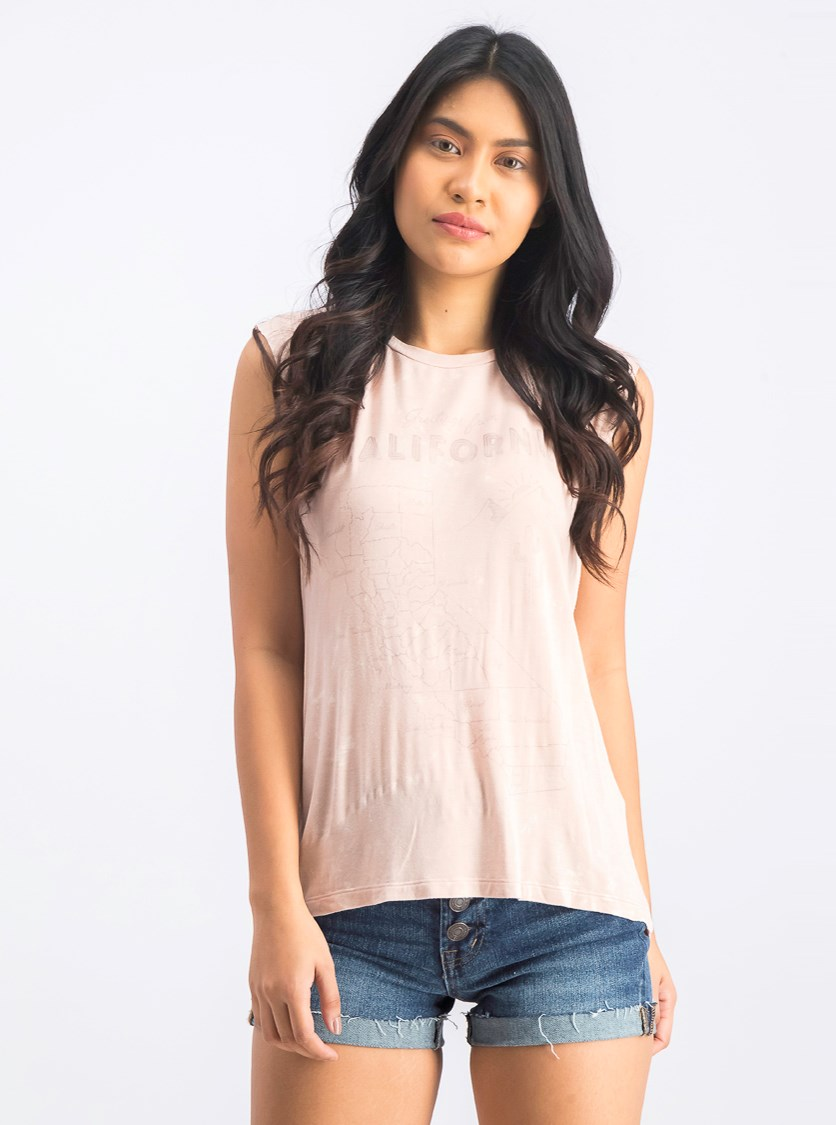 Women's Sleeveless Shirts, Blush