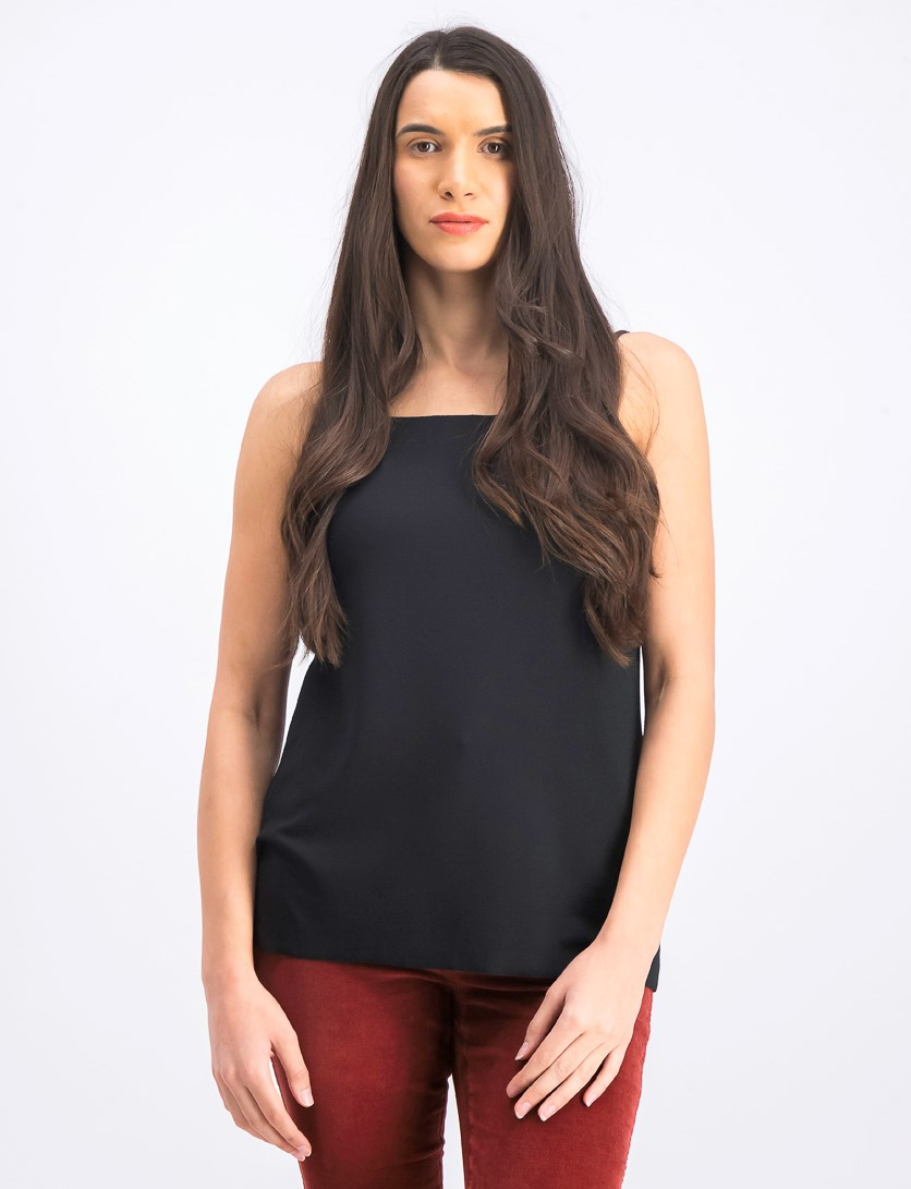 Women's Sleeveless Tops, Black