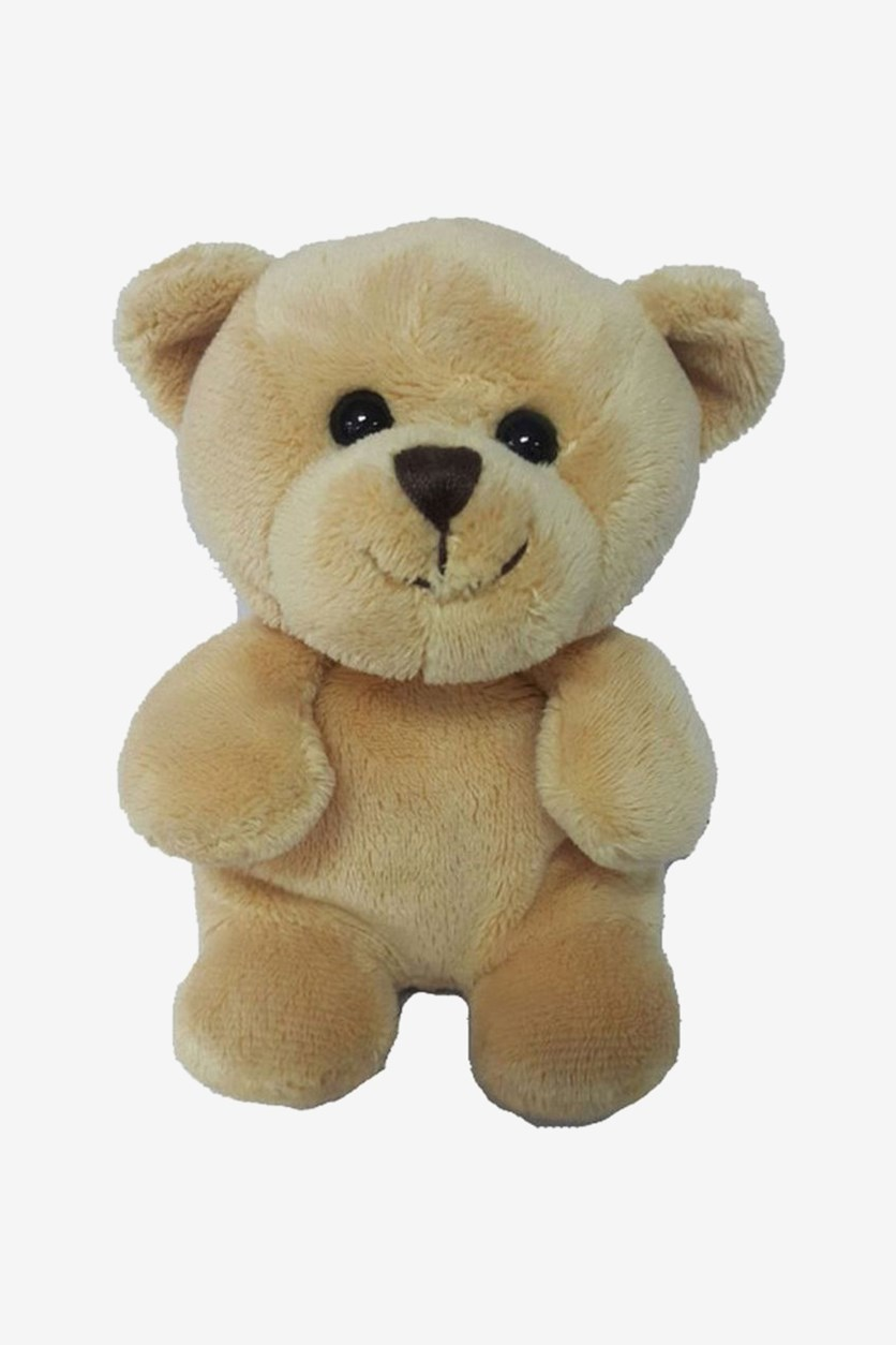 Bear Sitting Plush Toy, Yellow