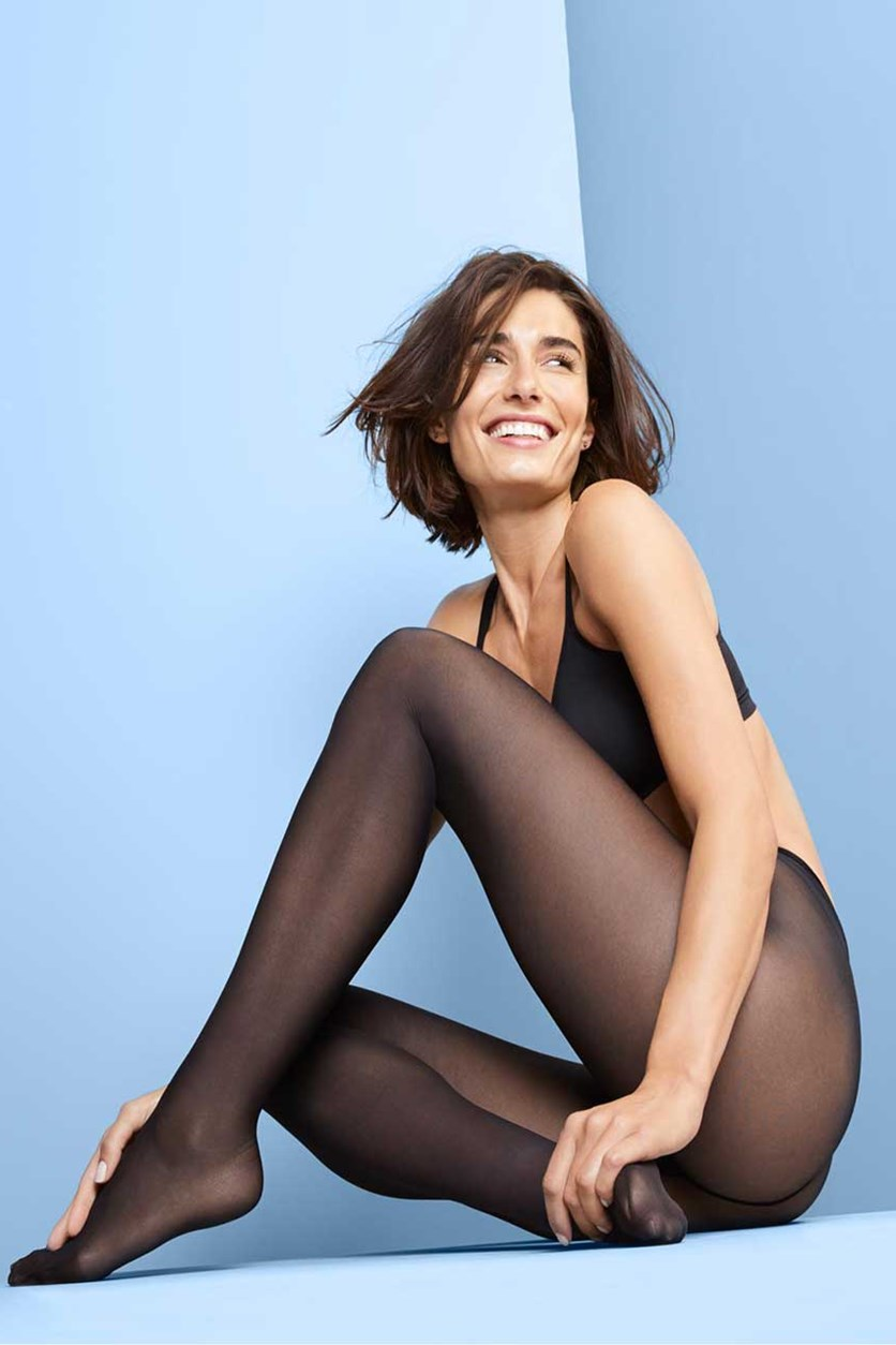 Women's 2 Pairs Of Tights, Black