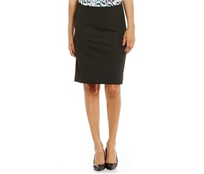 Jones New York Women's Washable Suiting Pencil Skirt, Black