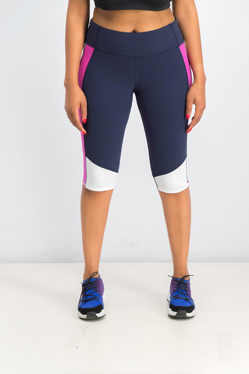 Women's G Fast Sprint Tech Capri, Navy Combo