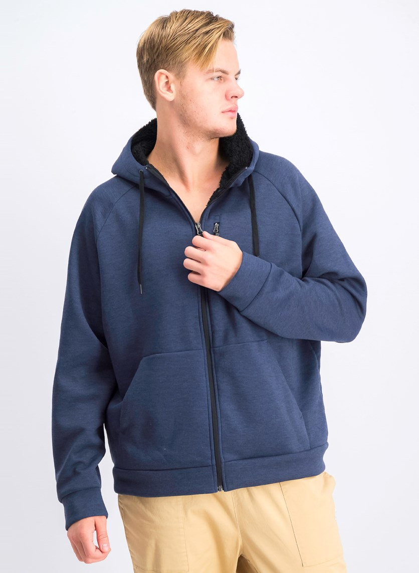 Men's Hooded Jacket, Blue