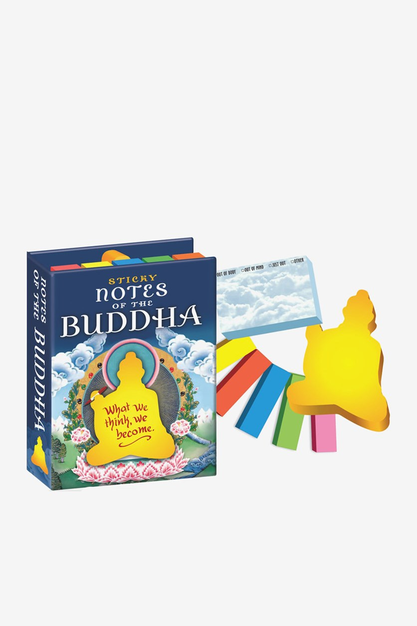 Philosopher's Guild Sticky Notes of The Buddha, Blue Combo
