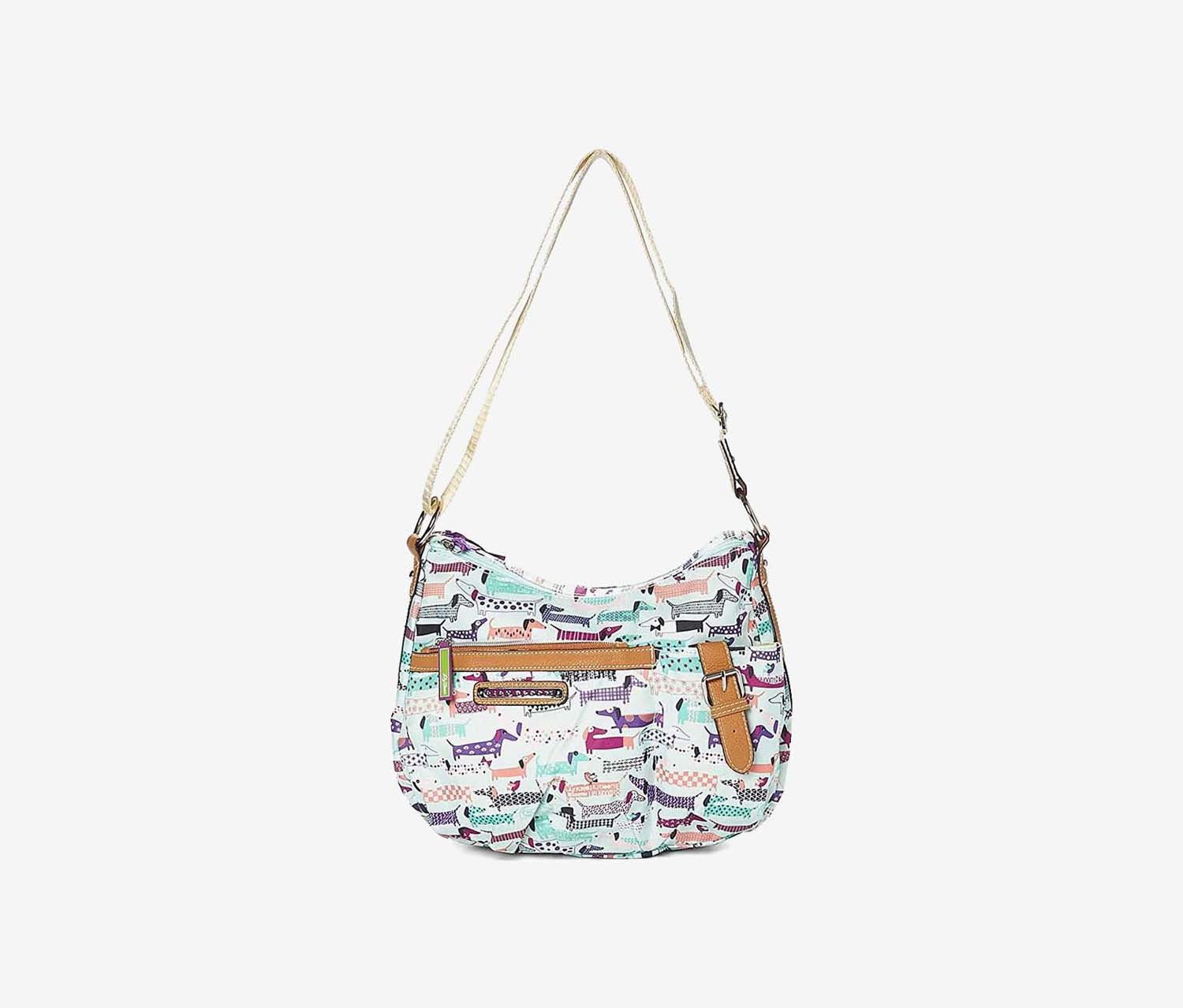 Kathryn Totally Paw Some Cross Body Bag, Mint Combo
