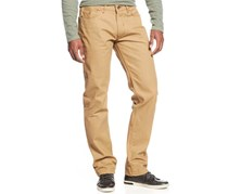 Rocawear Men's Lifetime Cuffed Raw-Lark-Wash Jeans, Khaki