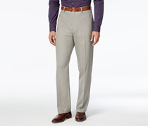 Alfani Men's  Flat-Front Pants, Oatmeal