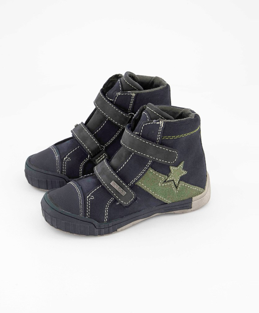 Kids Boy's High Cut Shoes, Blue