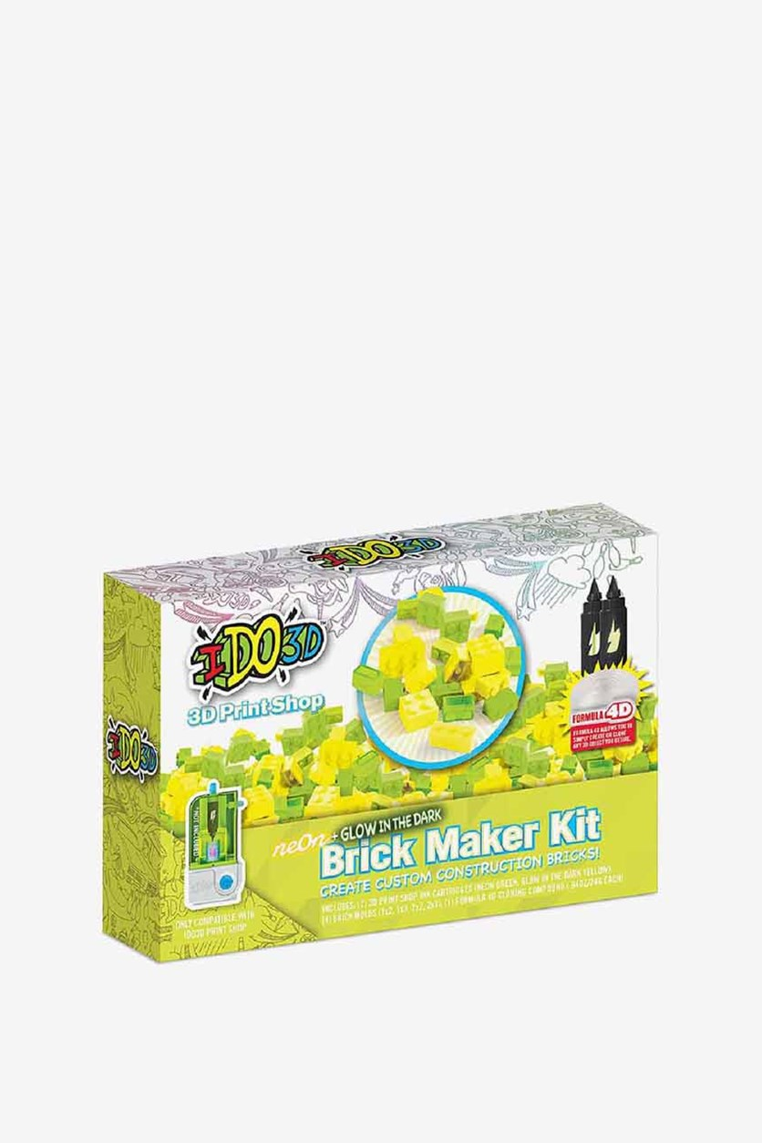 Brick Maker Kit, Yellow Green