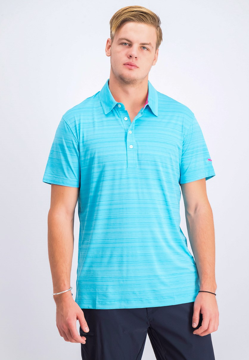 Men's Polo Shirt, Blue