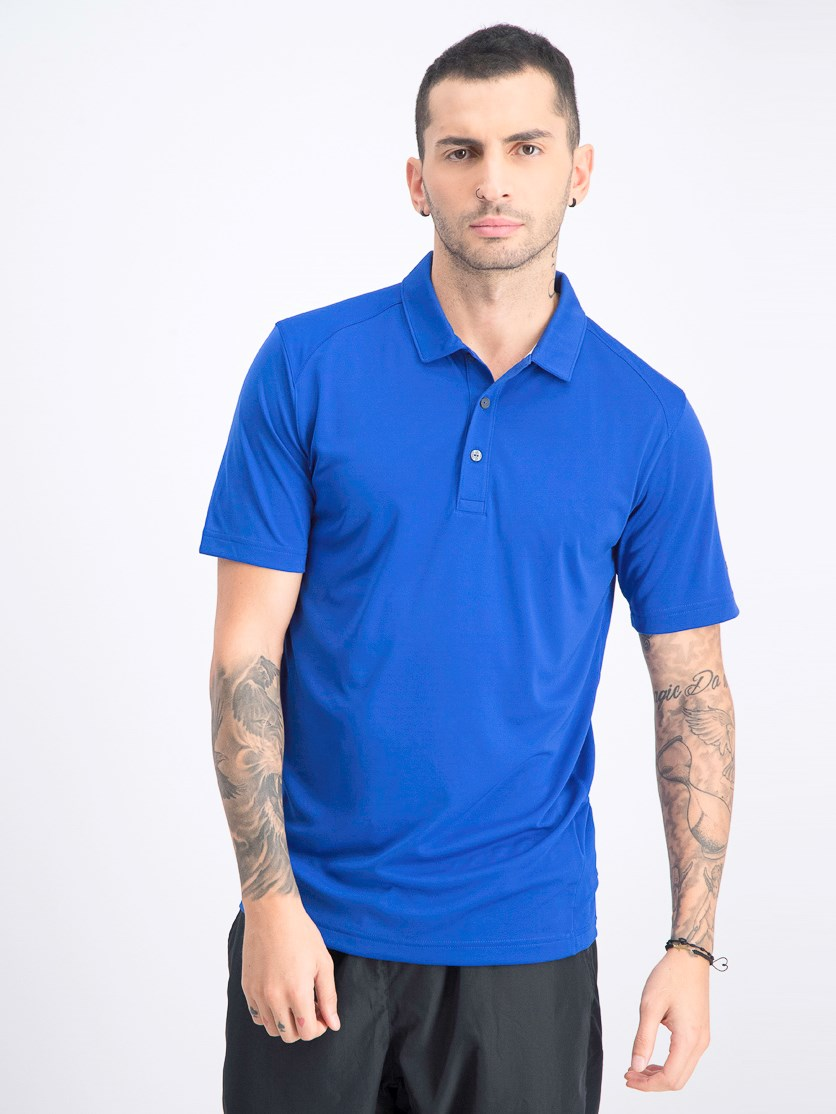 Men's Essential Pounce Polo, Blue
