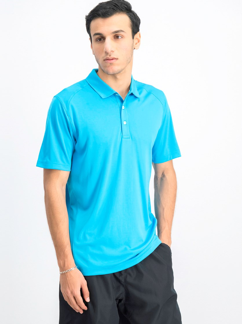 Men's Essential Pounce Polo, Atomic Blue
