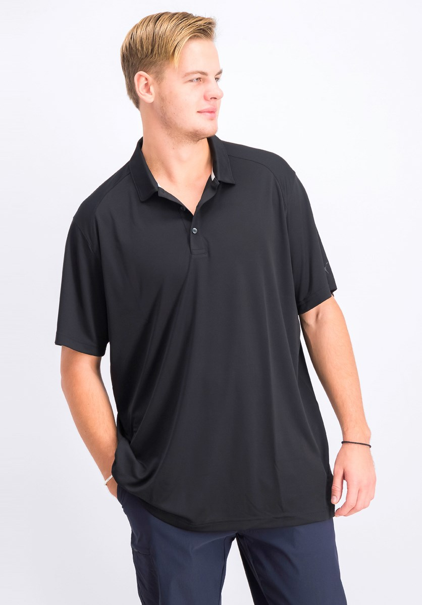 Men's Essential Pounce Polo, Black