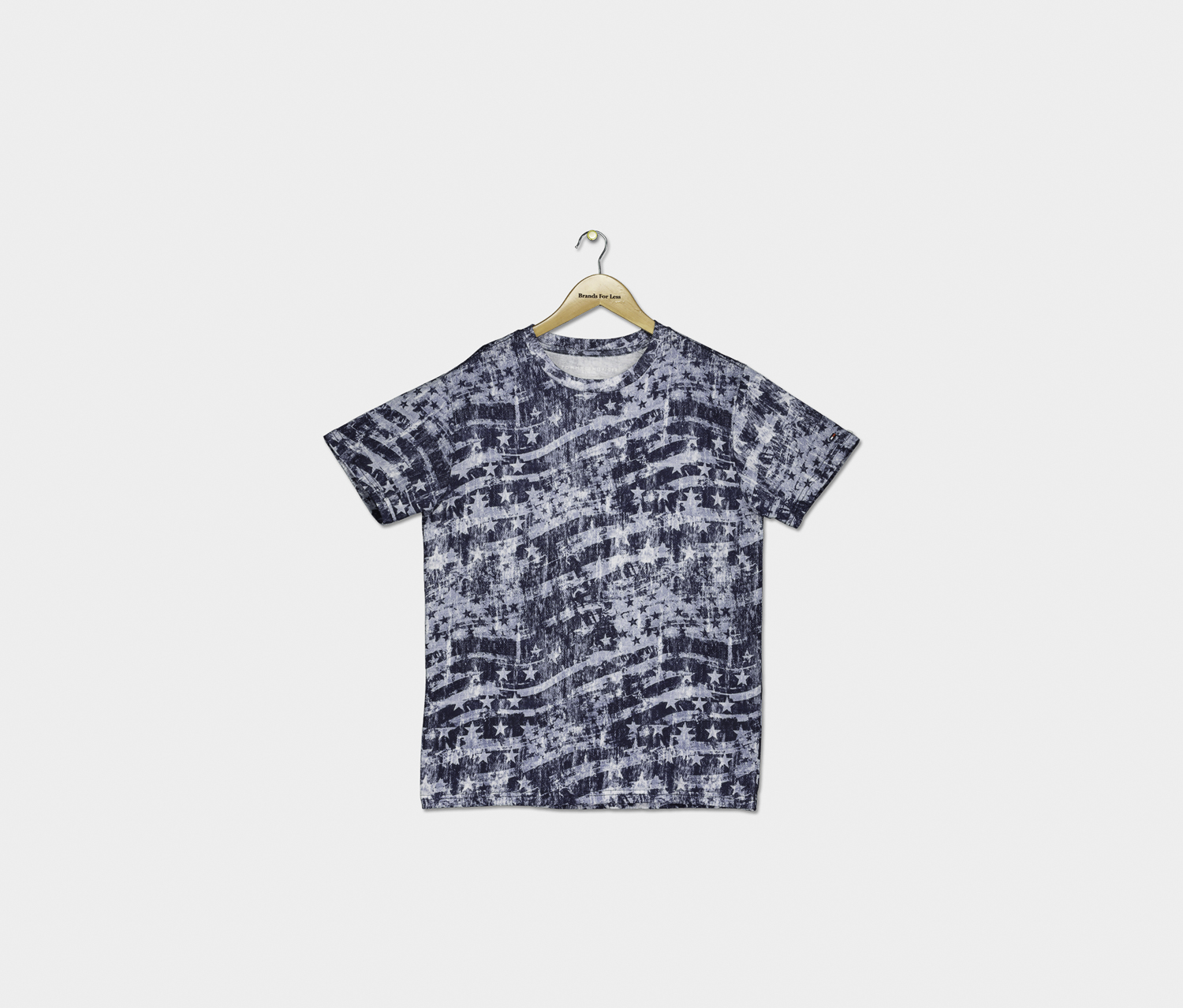 Big Boys Blazing Stars T-Shirt, Navy Combo