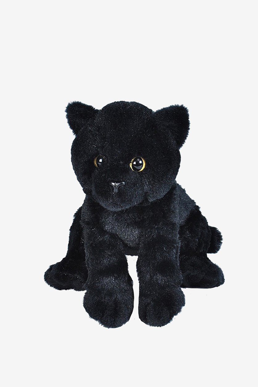 Small Cat Cuddly Soft Toys, Black