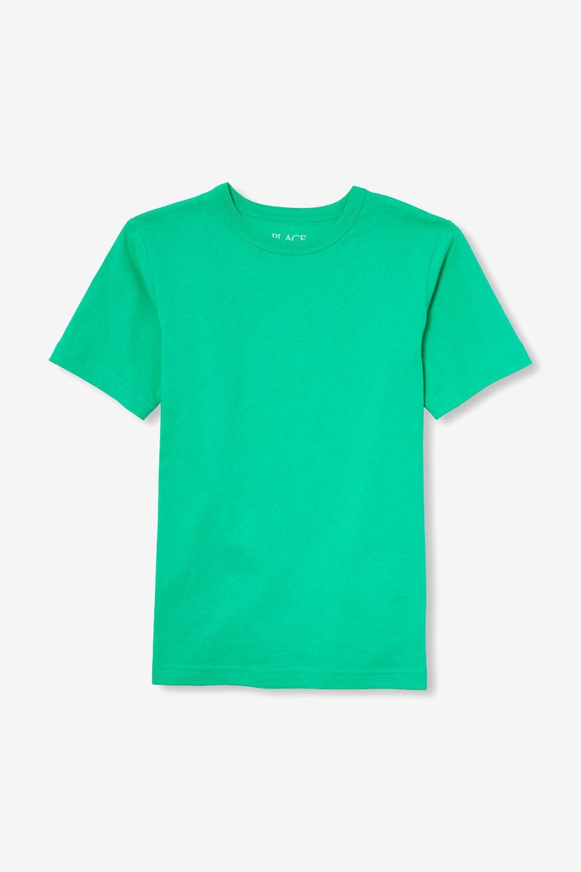 Boy's Matchables Short Sleeve Layering Tee, Bell Gardens/Green